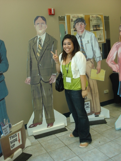 Being AZN with m'pals Dwight & Big Tuna
