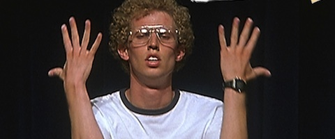 Image result for napoleon dynamite, confused