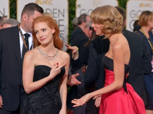 Jessica Chastain, Taylor Swift