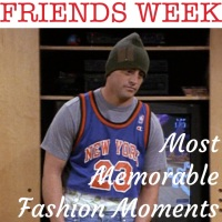Frankie Says Relax: Most Memorable Friends Fashion Moments