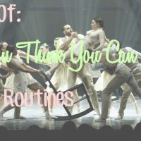 Best Of: So You Think You Can Dance Group Routines