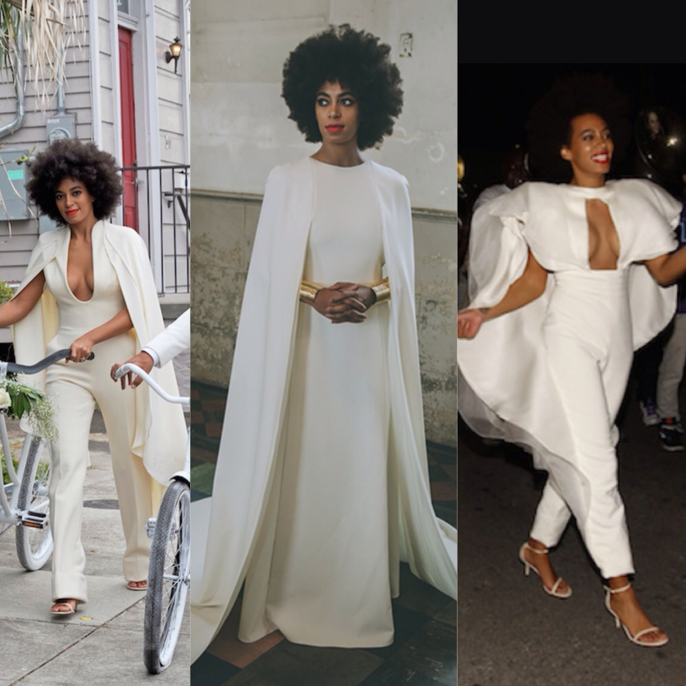 Solange Wore A Cape To Her Wedding And We Can All Stop Trying