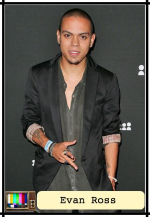 tv trading card_evan ross