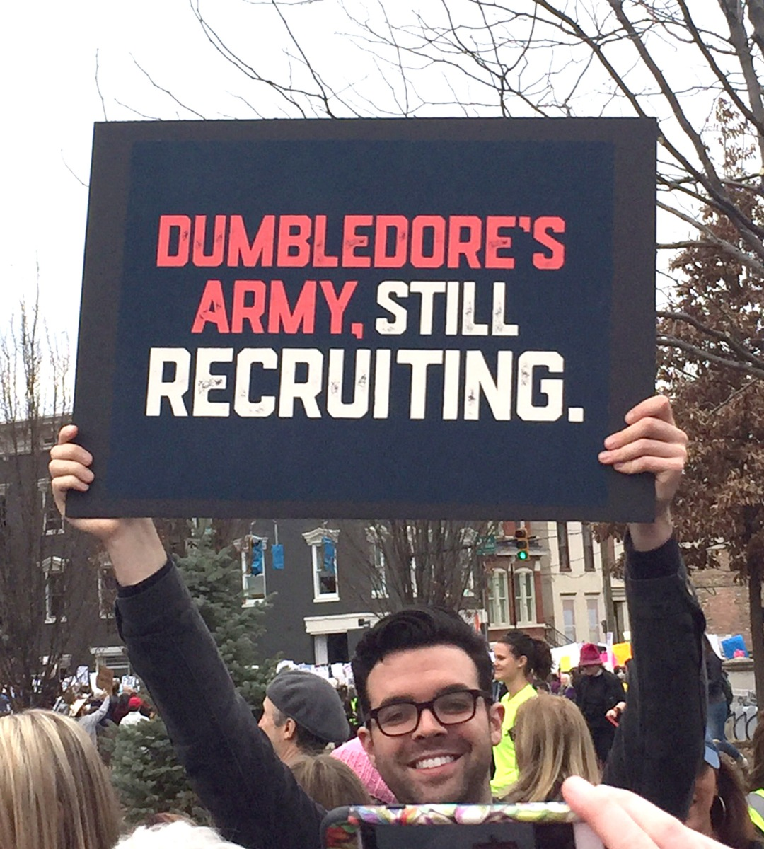 Harry Potter Protest Signs: Dumbledore's Army In The Resistance